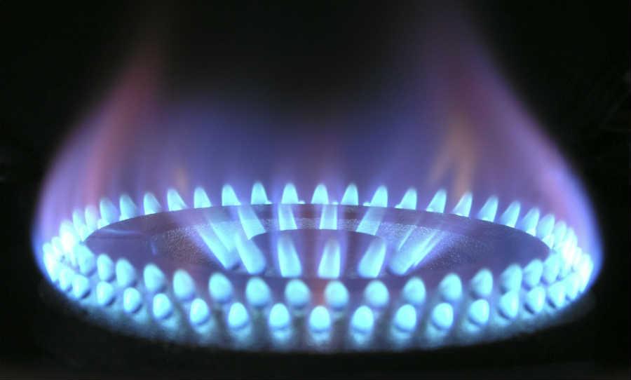 calderas de gas llama