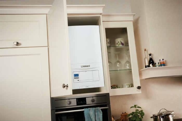 muebles de cocina para tapar calderas