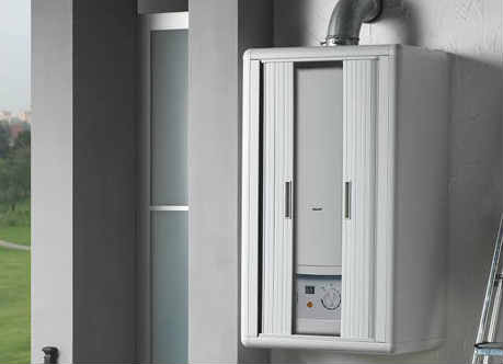 armario para caldera resina