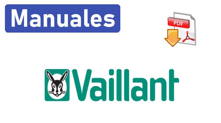 Manuales Caldera Vaillant