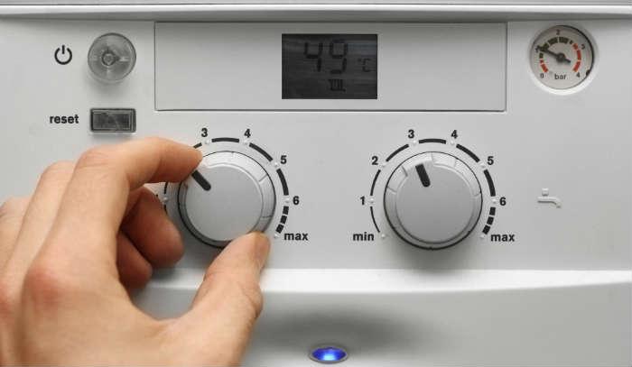 el calentador de gas no calienta el agua lo suficiente