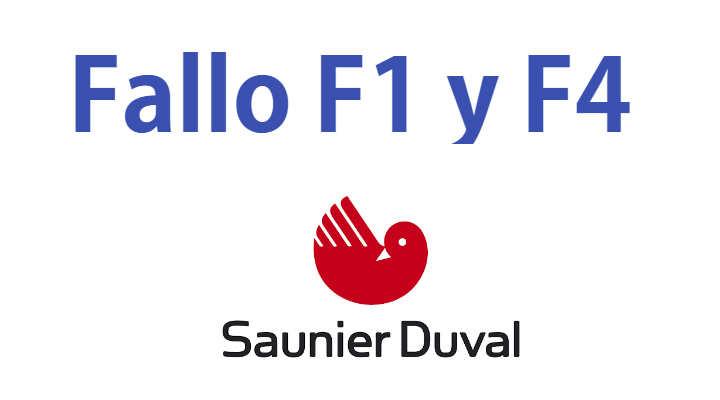 Error F1 Caldera Saunier Duval