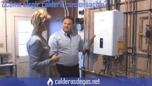 como elegir una caldera de condensacion
